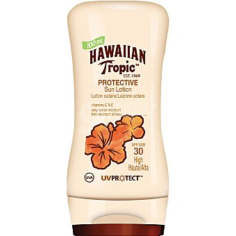 HAWAIIAN TROPIC loción solar protectora FP-30 frasco 100 ml