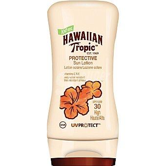 Hawaiian Tropic loción solar protectora FP-30 frasco 100 ml