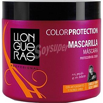 LLONGUERAS PROFESIONAL Mascarilla Color Protection cabello teñido seco y dañado Tarro 450 ml