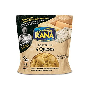 Rana Ravioli 4 quesos Bandeja 250 g