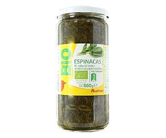 Auchan Espinacas al Natural Bio 425g