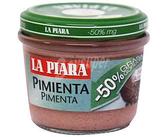La Piara Paté a la pimienta verde con -50% de materia grasa 100 gramos