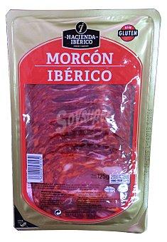 HACIENDA Morcón ibérico lonchas  Paquete de 125 g