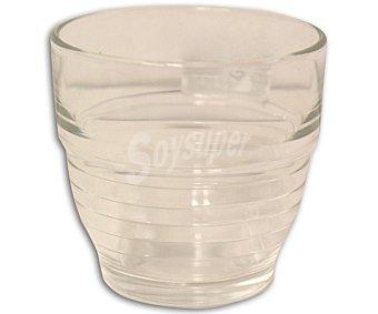 Productos Económicos Alcampo Vaso bajo para agua con capacidad de 16 centilitros y fabricado en vidrio transparente 1 Unidad