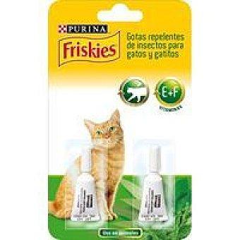 Friskies Purina Gotas herbales para gatos Pack 1 unid