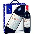 vino tinto crianza D.O. Rioja estuche cartón 3 botellas 75 cl Cune