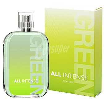 ALL INTENSE Green eau de toilette unisex Spray 100 ml