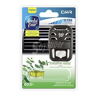 Ambipur Ambientador car respira Pack de 2x7 ml