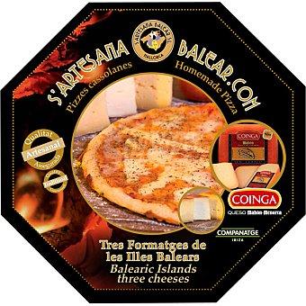 S´ARTESANA BALEAR Pizza de 3 quesos de las islas baleares estuche 312 g estuche 312 g