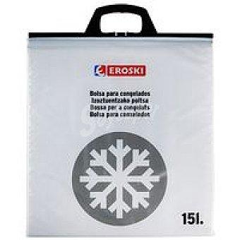 Eroski Bolsa termo mediana para congelados 15 l. Pack 1 unid