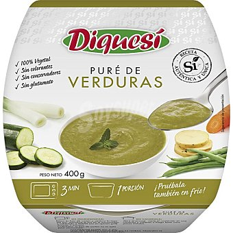 Diquesí Puré de verduras Tarrina 400 g
