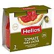 Tomate para untar con aceite de oliva  Pack 2 u x 140 g Helios
