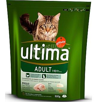 Ultima Affinity Comida para gatos pollo-arroz 800 g