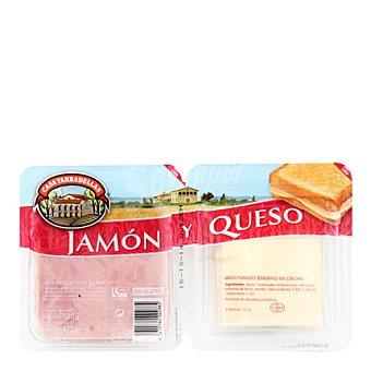Casa Tarradellas Pack de jamón y queso 232 g