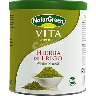 NATURGREEN Vita Superlife hierba de trigo ecológica desintoxicante y alcalinizadora envase 200 g