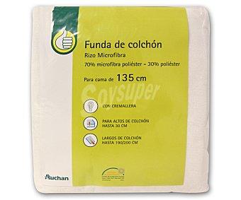 Productos Económicos Alcampo Funda 135 centímetros de microfibra, 30 centímetros de alto 1 Unidad