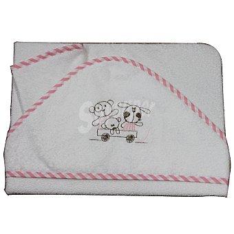Bebé Capa de baño con manopla para de rizo y bordada