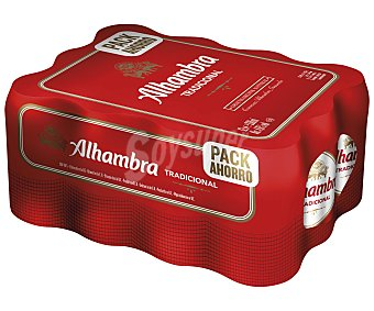 Alhambra Cerveza tradicional Pack 12 uds. x 33 cl