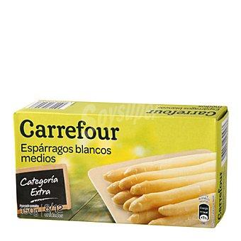 Carrefour Espárragos blancos 8/12 Frasco de 230 g