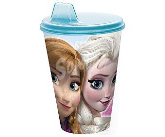 Disney Vaso fabricado en polipropileno con tapa, boquilla Sipper y diseño de Frozen, 0,43 litros de capacidad, modelo Frozen Timeless 1 unidad