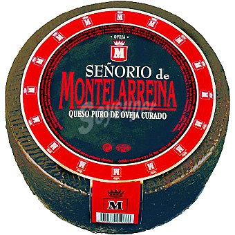 SEÑORIO DE MONTELARREINA Queso curado puro de oveja peso aproximado pieza 3 kg 3 kg