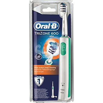 BRAUN Oral B Cepillo dental con tecnología de limpieza profunda de triple acción blister Trizone 600 1 unidad