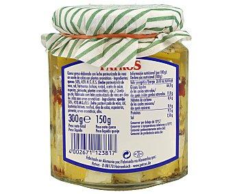 PATROS Cuadraditos de queso para ensalada, en aceite vegetal a las finas hierbas 150 gr