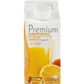 Premium Zumo de naranja exprimido Brik 33 cl