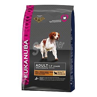 Eukanuba Pienso para perros pequeños y medianos Adult small/medium Cordero 12 Kg
