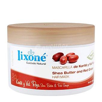 Lixone Mascarilla de karité y vid roja para cabello seco 200 ml