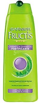 Fructis Garnier Champú fortificante con concentrado activo de frutas para cabello graso Frasco 300 ml