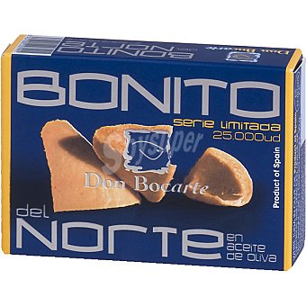 Don bocarte Bonito del norte serie limitada en aceite de oliva lata 90 g lata 90 g