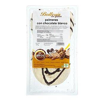 Airos Palmera con chocolate blanco sin gluten Paquete 150 g