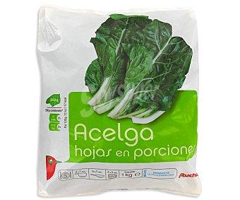 Auchan Acelga Hojas en Porciones 1 Kilogramo