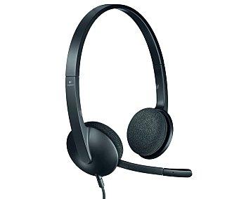 Logitech Auricular PC tipo Diadema USB headset H340 , con cable y micrófono