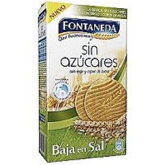 Fontaneda Galletas sin azúcar baja en sal Caja 315 g