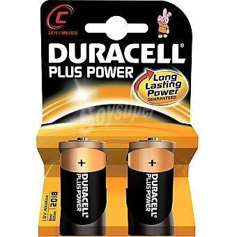DURACELL LR14 C Pilas alcalinas Plus Power blister 2 unidades 2 unidades