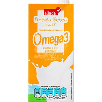 Aliada Bebida lactea enriquecida con Omega 3 Envase 1 l
