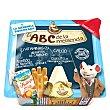 El ABC de la merienda con quesito (quesito Dop, batido fruta y grissini) 1 Pack  Parmareggio