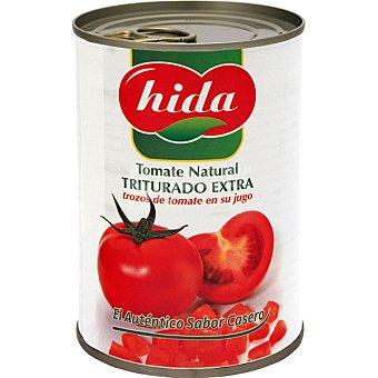 Hida Tomate natural triturado extra Lata 400 g