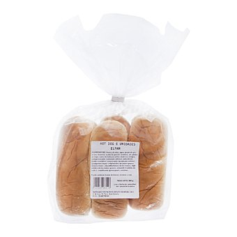 Elpan Pan hot dog 6 Uds. 6 Uds. 330 g