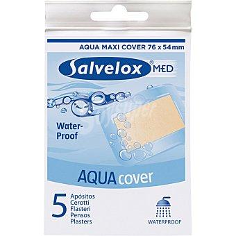 Salvelox Aqua Cover apósitos ultrafinos y resistentes al agua blister 5 unidades Blister 5 unidades