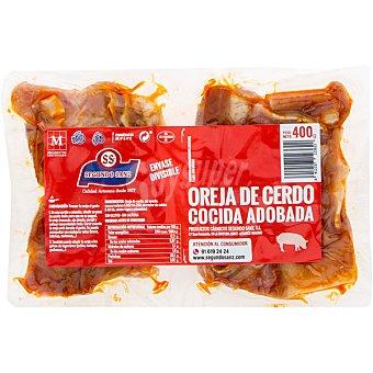 Segundo sanz Oreja de cerdo cocida adobada bipack  bandeja 400 g