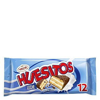 Valor Huesitos leche Pack 12x20 g