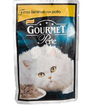 Gourmet Purina Finas láminas con pollo Sobre de 85 g