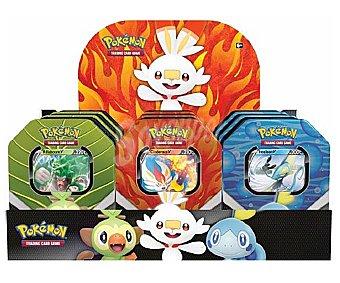 Pokemon Lata de cartas Compañeros de Galar, pokemon