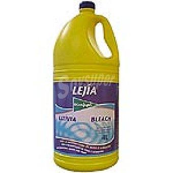 El Corte Inglés Lejía amarilla Botella 4 l