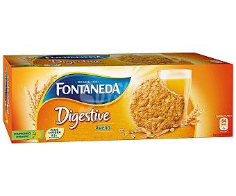 Fontaneda Galletas Digestive de avena Caja 300 g