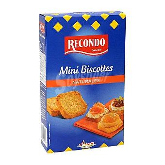 Recondo Mini biscotes Paquete 120 gr