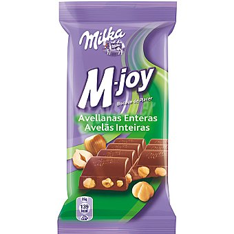 Milka M-joy Chocolate Con Avellanas Enteras 60g